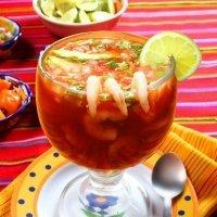 Coctel de camarón. Receta mexicana para los niños