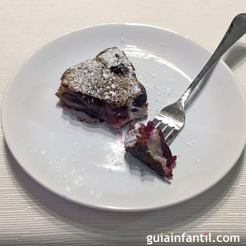 Clafoutis o tarta de cerezas sin horno. Recetas fáciles para toda la ...