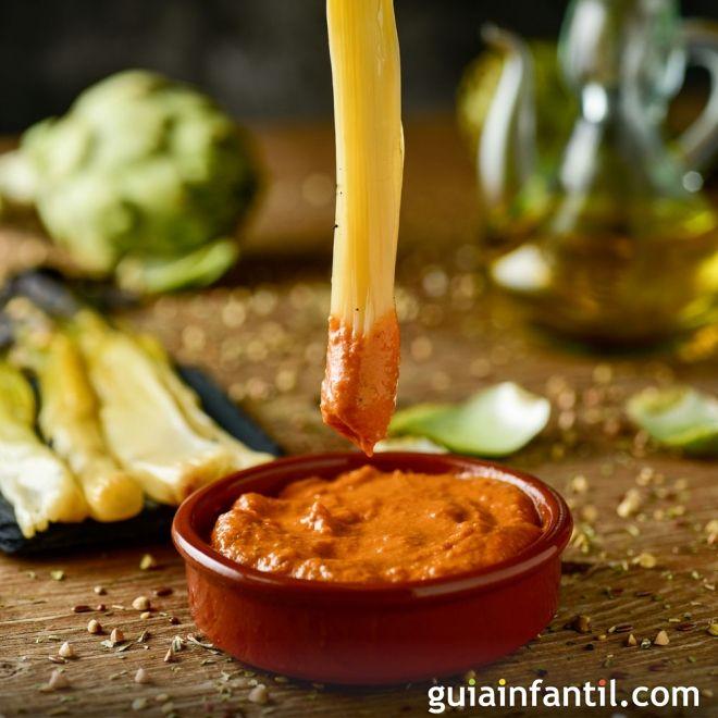 Cómo hacer salsa salvitxada. Recetas de salsas caseras