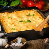 Lasaña chilena con patatas. Comidas para los niños