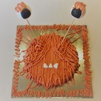 Bizcocho de monstruo. Receta de Halloween para niños