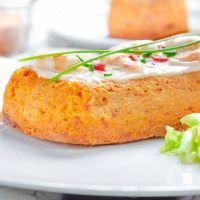 Pastel de merluza. Receta de pescado para niños