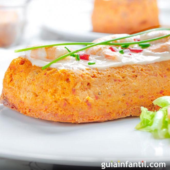 Pastel de merluza receta de pescado para ni os for Cocinar pescado para ninos