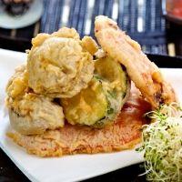 Tempura de verduras. Recetas japonesas fáciles