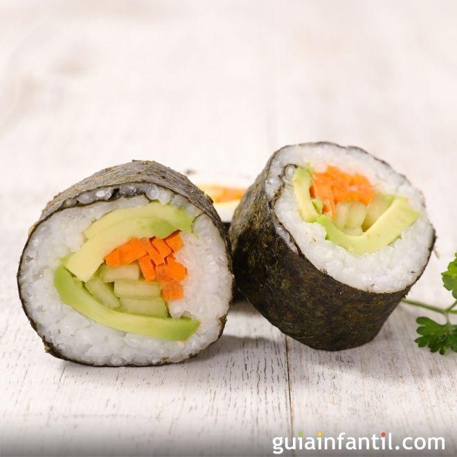 Cómo hacer maki sushi en casa. Recetas japonesas para toda la familia