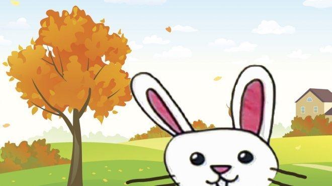 e7b13461ce187 Cómo dibujar un conejo. Dibujos infantiles de animales