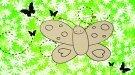 Cómo dibujar una mariposa. Dibujos infantiles