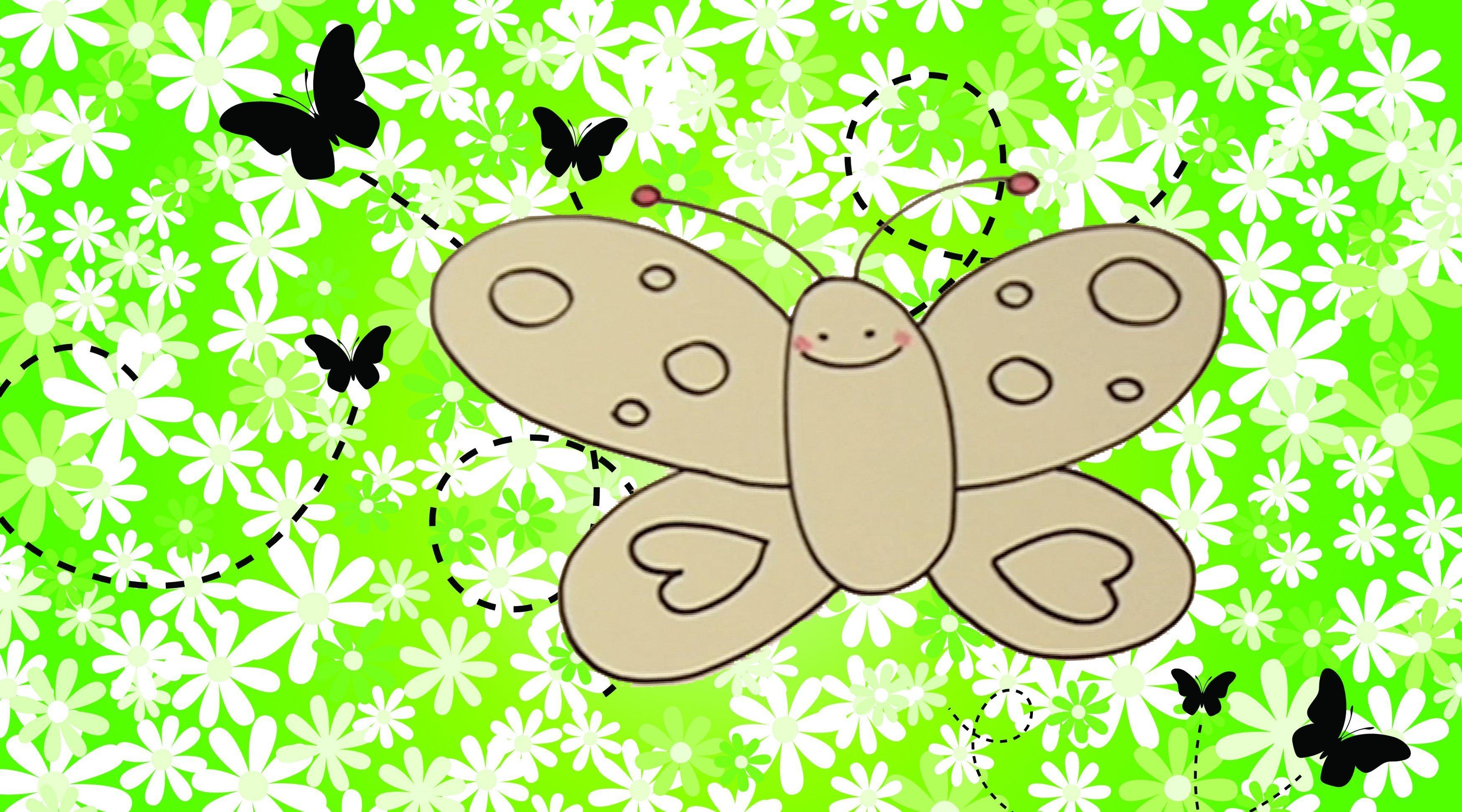 C mo dibujar una mariposa dibujos infantiles - Bebes dibujos infantiles ...