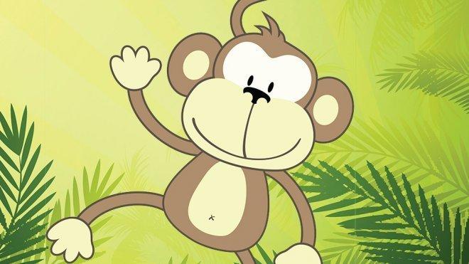 Cmo dibujar un mono Dibujos infantiles de monos
