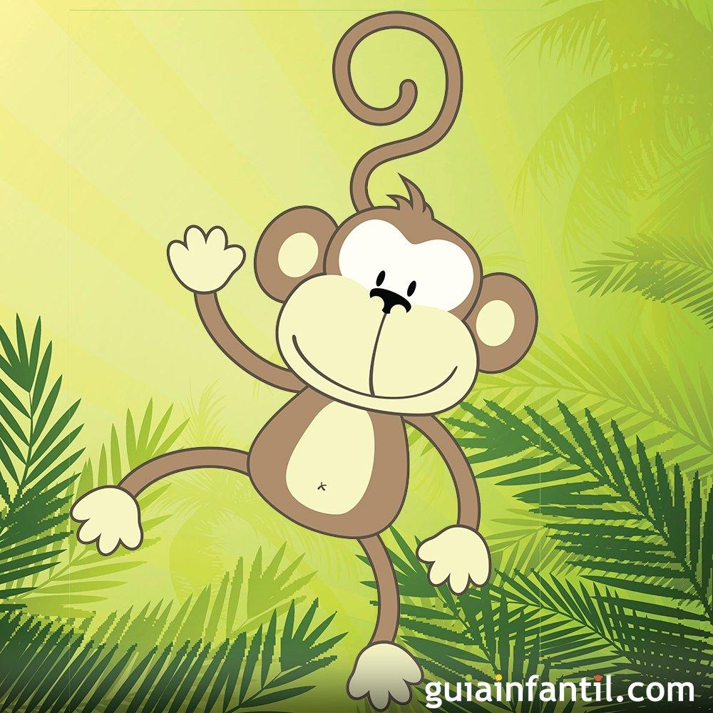 C mo dibujar un mono dibujos infantiles de monos - Dibujos infantiles de bebes ...
