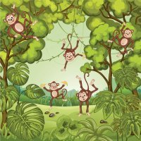 Canción para aprender inglés: Five Little Monkeys