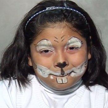 Maquillaje de conejo
