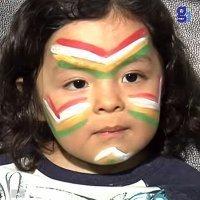 Maquillaje de fantasía de Indio