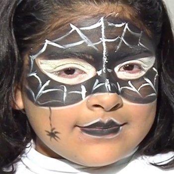 Maquillaje de araña
