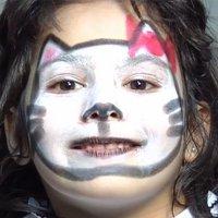 Maquillaje de fantasía de Gato