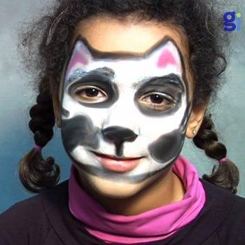 Maquillaje de dálmata