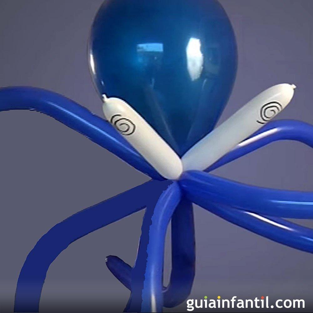 Globoflexia aprende a hacer un pulpo con globos - Hacer munecos con globos ...