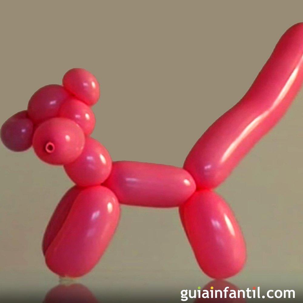 Aprende a hacer la pantera rosa con globos globoflexia - Hacer munecos con globos ...