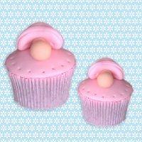 Cómo decorar un cupcake con un chupete