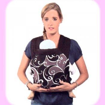 Cómo llevar el bebé con un Mei Tai