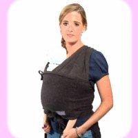 Llevar a tu bebé con un caboo. Portabebés