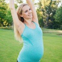 Gimnasia en el embarazo, estiramientos tras los ejercicios