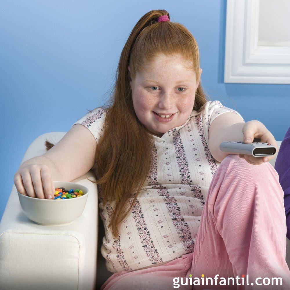 como hacer bajar de peso a un nino obeso
