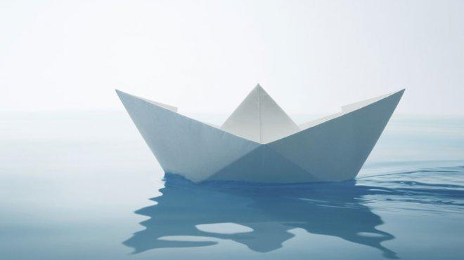 Manualidades Un barco de papel