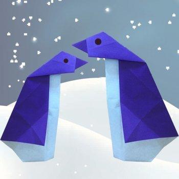 Pingüino de origami