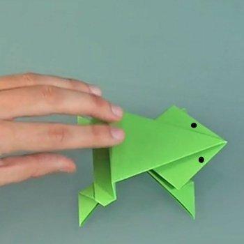 Rana de origami