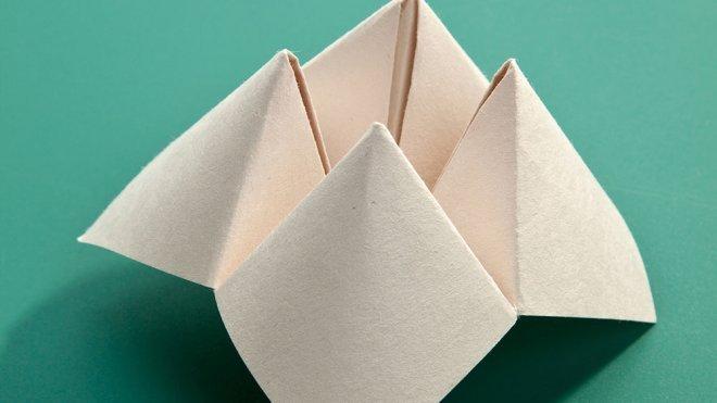 Comecocos De Papel Manualidades De Origami