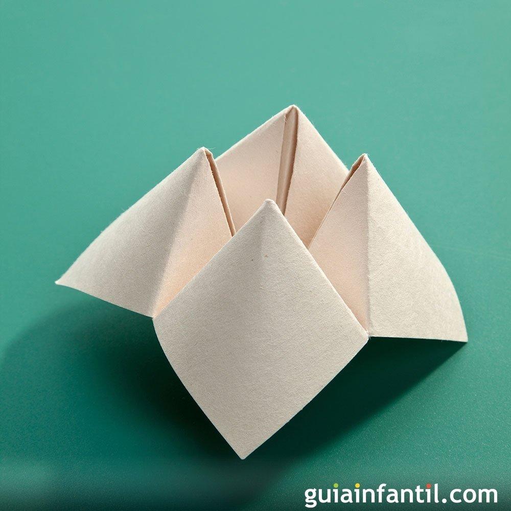 Comecocos de papel manualidades de papiroflexia for Como construir piletas de material