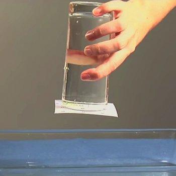 El agua que no cae. Ciencia para niños
