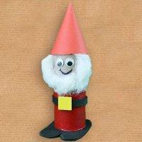 Papá Noel. Manualidades para niños de Navidad