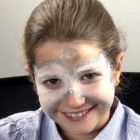 Cara de Ángel. Maquillaje de Navidad para niños