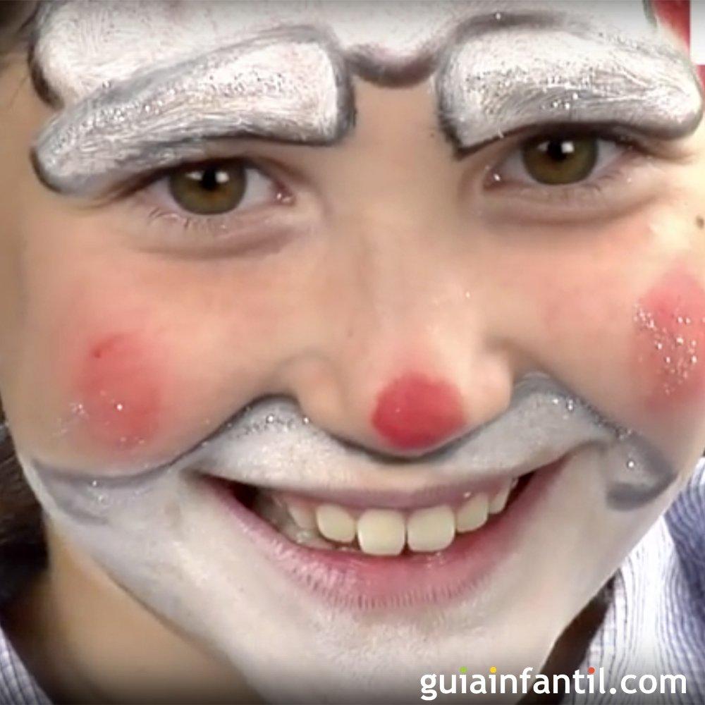 Maquillaje De Navidad Para Ninos Papa Noel