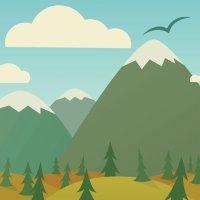 Cuentacuentos para niños. El pájaro y la montaña