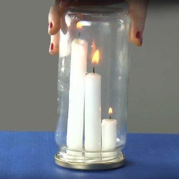 Qué vela se apaga primero