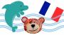 Animales del mar en francés
