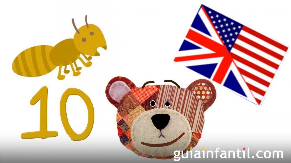 Cuenta Hasta Diez En Inglés Actividades Con Insectos