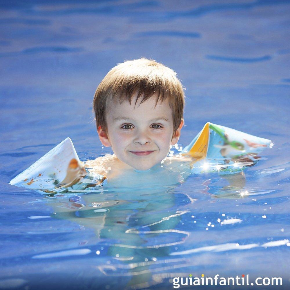 Manguitos o flotador para los ni os - Panales para piscina ...