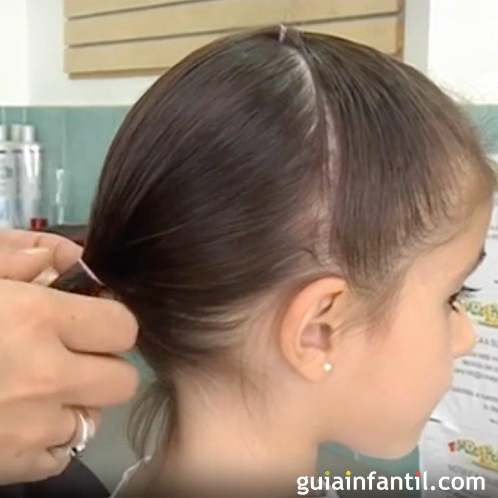 peinados nia faciles paso a paso