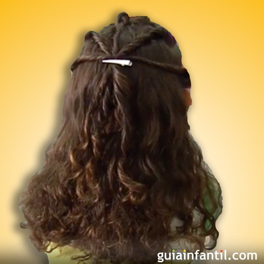 recogido para pelo rizado ideas de peinados - Recogido Rizado