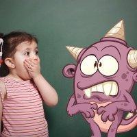 Juegos para niños con miedo a los monstruos