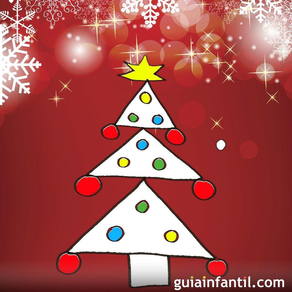 Dibujos De Arboles De Navidad Pintados.Ensena A Tu Hijo A Dibujar Un Arbol De Navidad