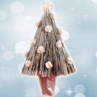 Aprende a hacer un árbol de Navidad con una revista