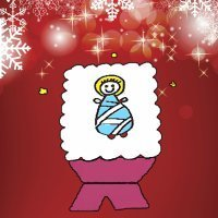 Enseña a tus hijos a dibujar al Niño Jesús