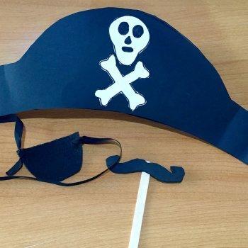 Vídeo de sombrero de pirata