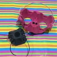 Aprende a hacer con tus hijos máscaras de animales con material reciclado