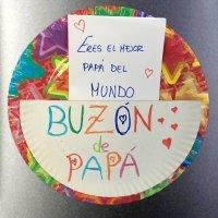 Buzón de mensajes para regalar a papá